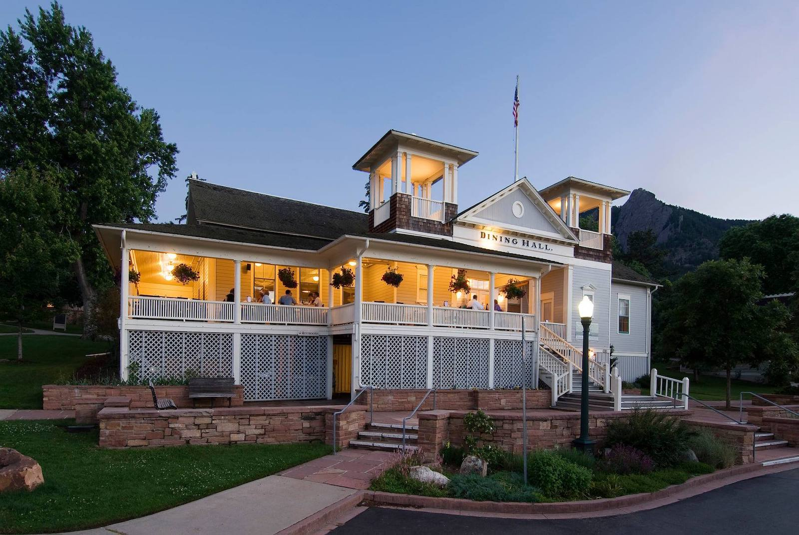 Chautauqua Dining Hall, Colorado