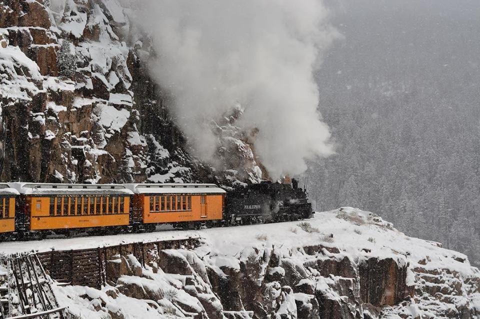 image of durango and silverton train
