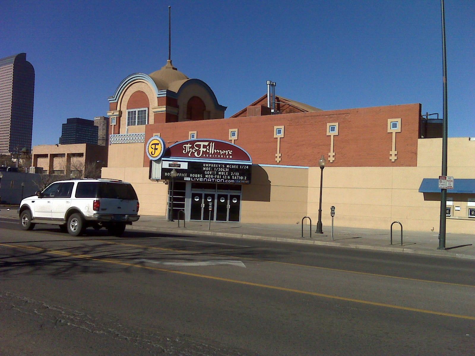 Fillmore Auditorium, Denver