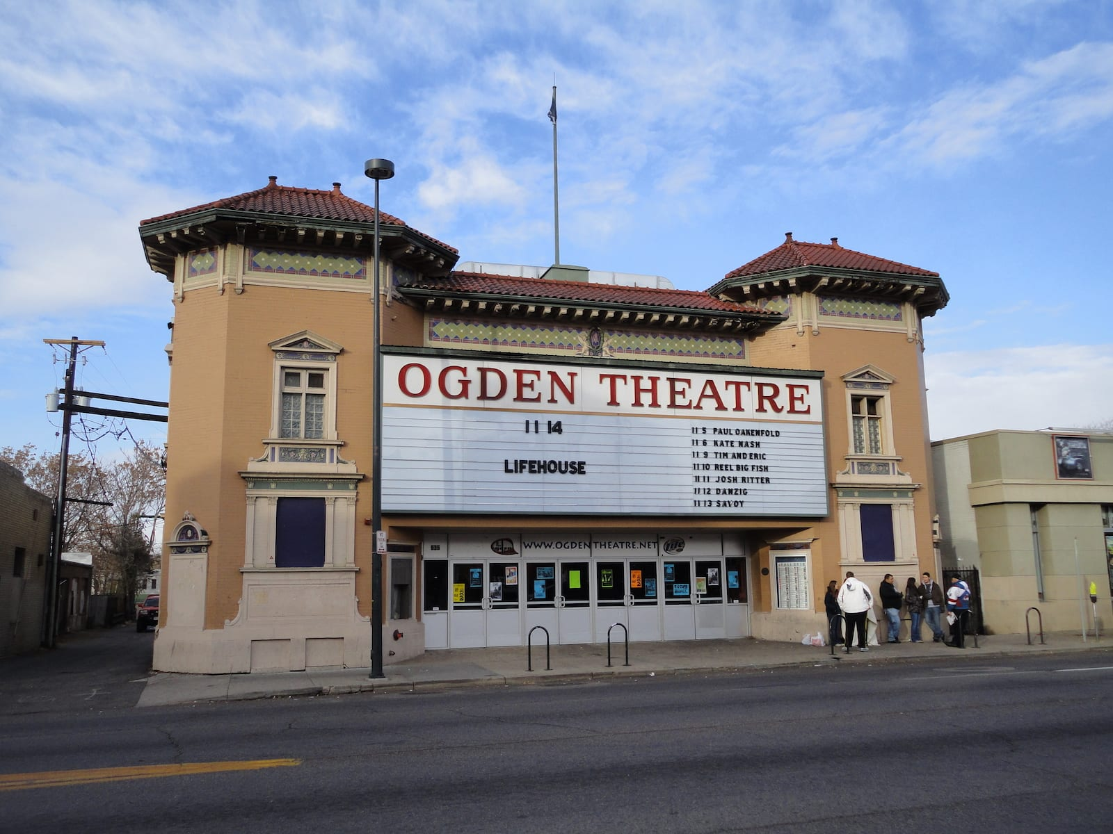 Ogden Theatre, Denver, Colorado