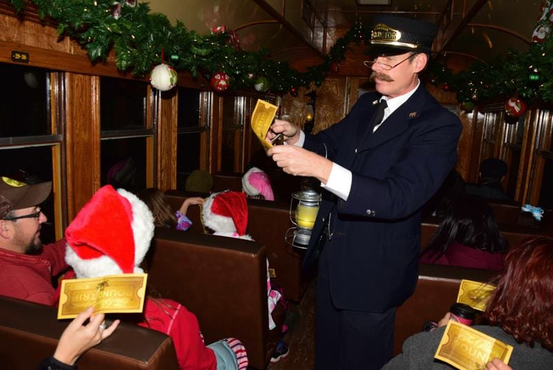 image of the polar express in Durango