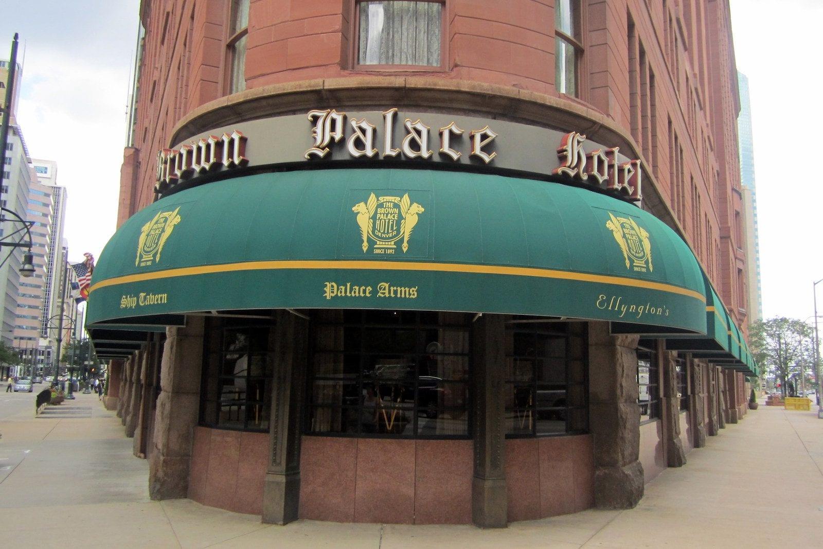 Restaurants inside the Brown Palace, Denver, CO