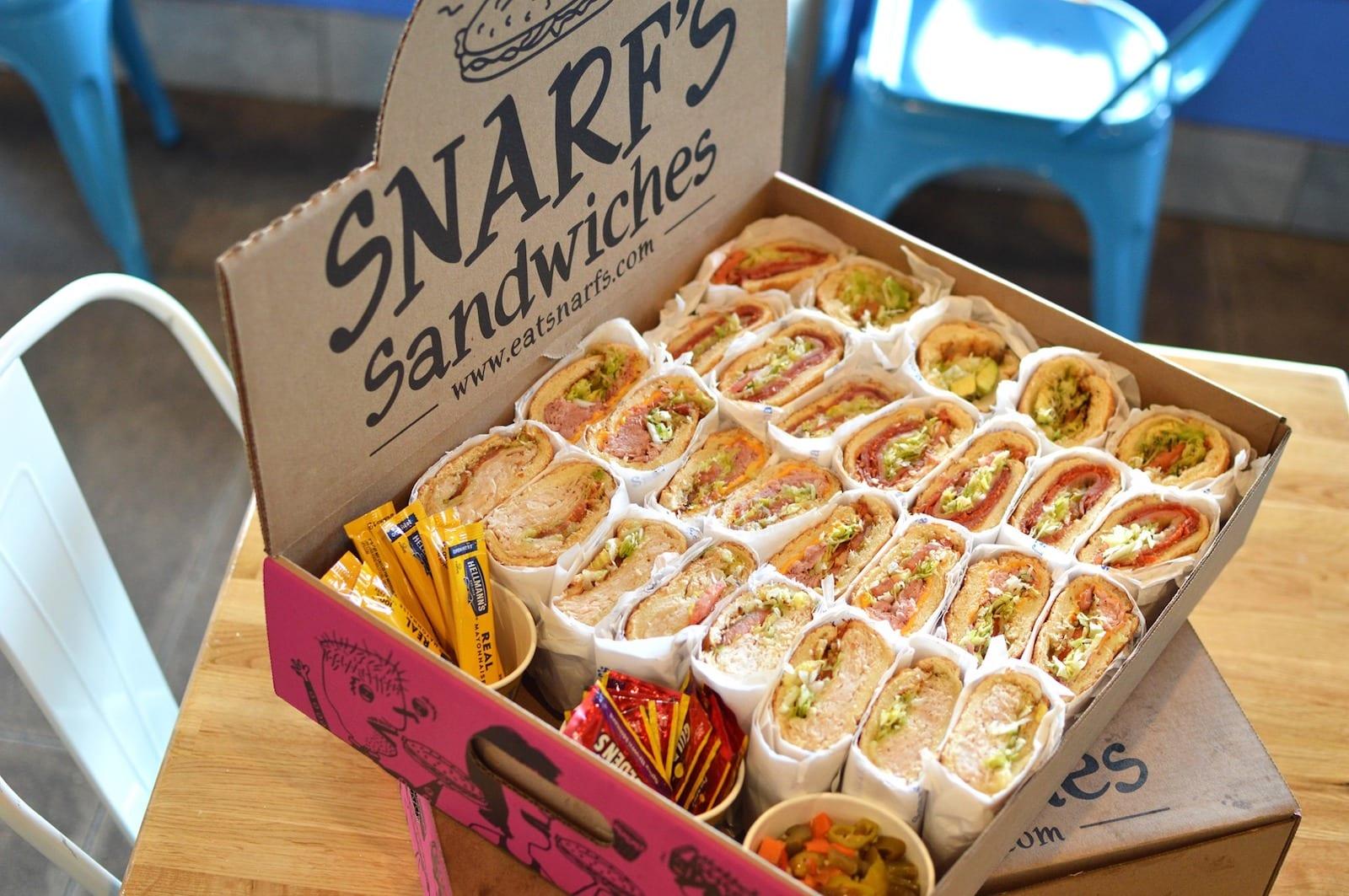 Snarfs Sandwiches Catering Colorado