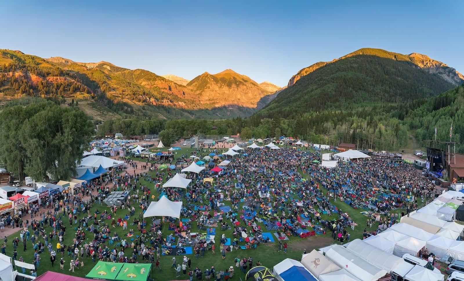 Telluride Town Park Stage, Telluride, Colorado