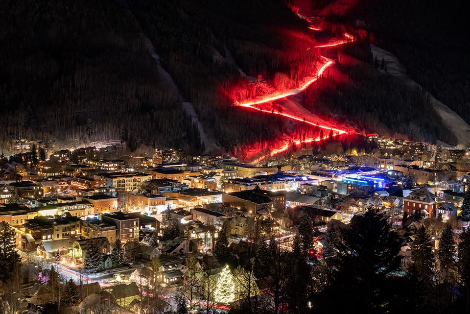 image of Telluride Torchlight parade