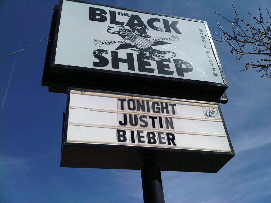 Black Sheep, Colorado Springs
