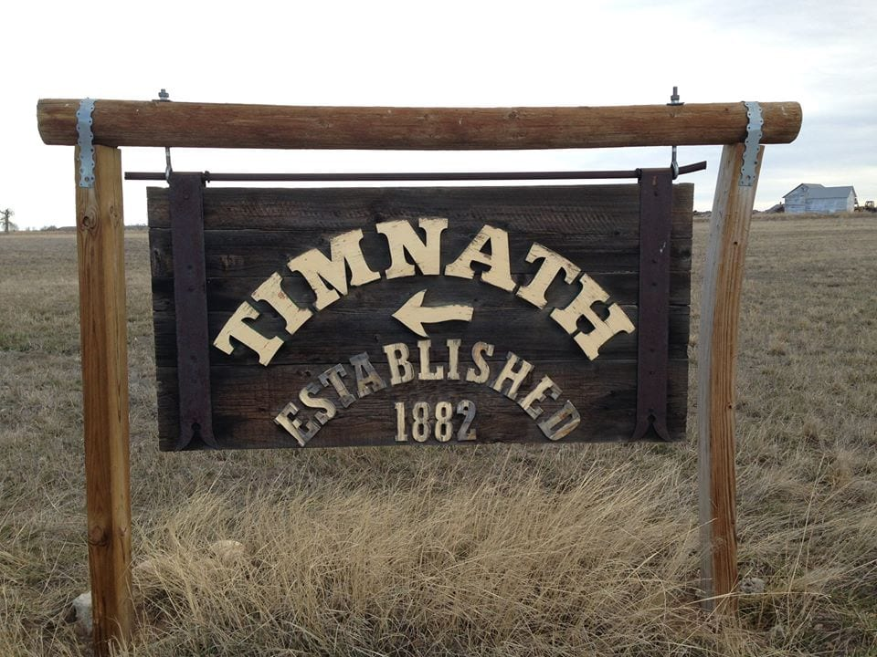 image of town sign Tinmath
