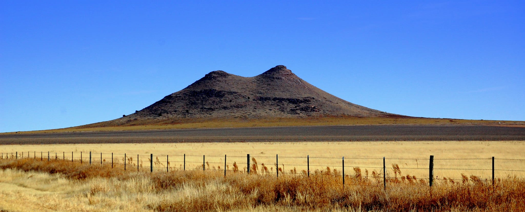 image of two buttes colorado
