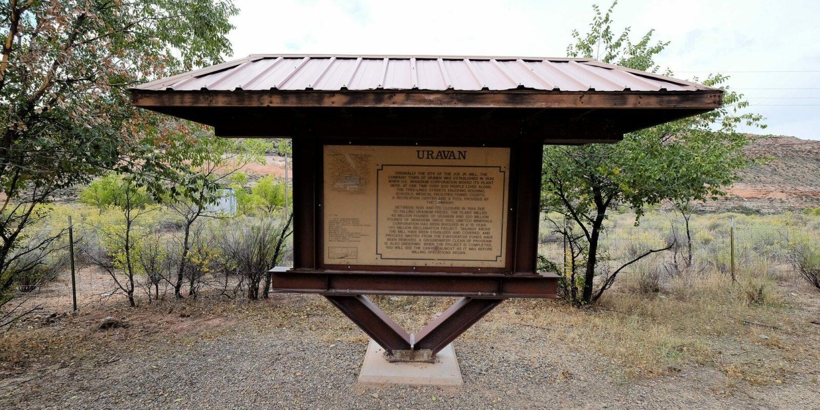 image of uravan colorado