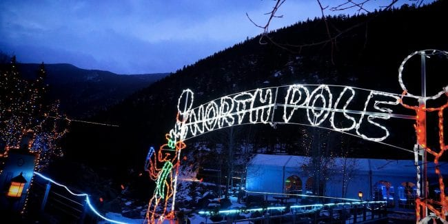 Colorado Christmas Train Rides Georgetown Loop Railroad North Pole