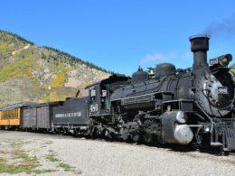 Colorado Train Rides Durango and Silverton Railroad Locomotive