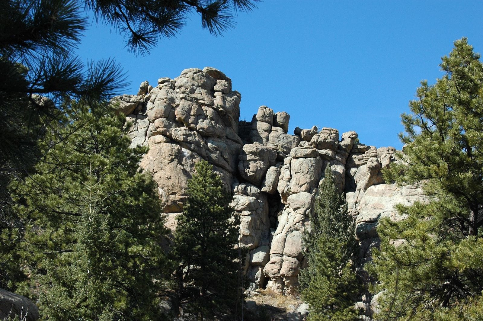 Evergreen CO Hikes Three Sisters Rock Formation