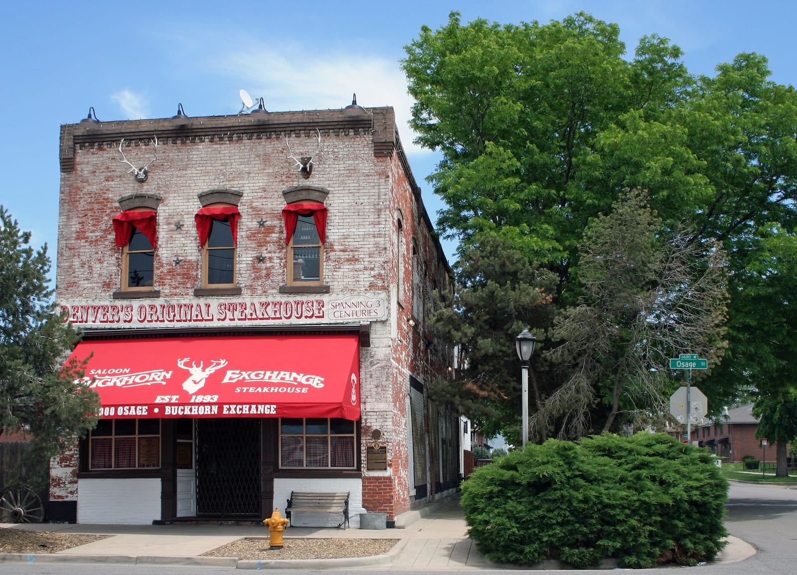 Famous Colorado Restaurant Buckhorn Exchange Denver