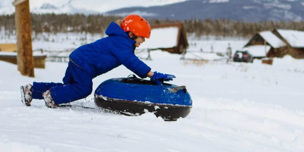 Snow Mountain Ranch Winter Tubing Granby CO