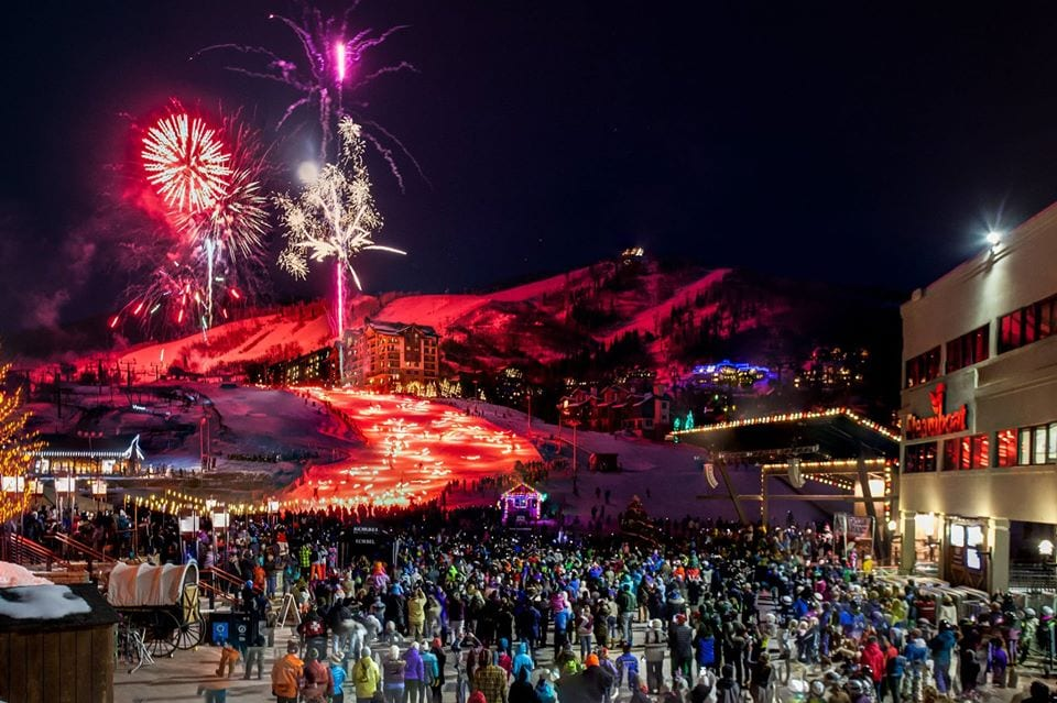 image of the torchlight parade steamboat springs