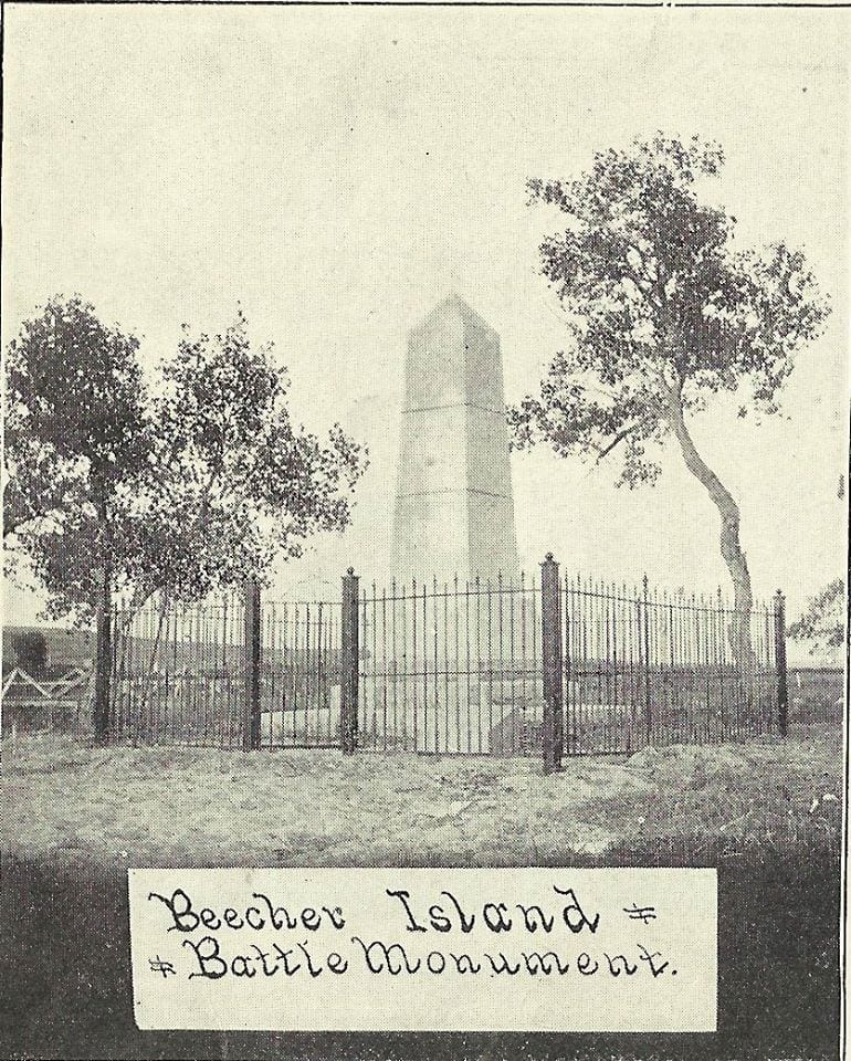 image of beecher island battle monument