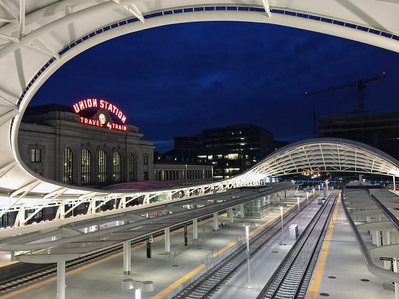 image of central terminal at denver union station