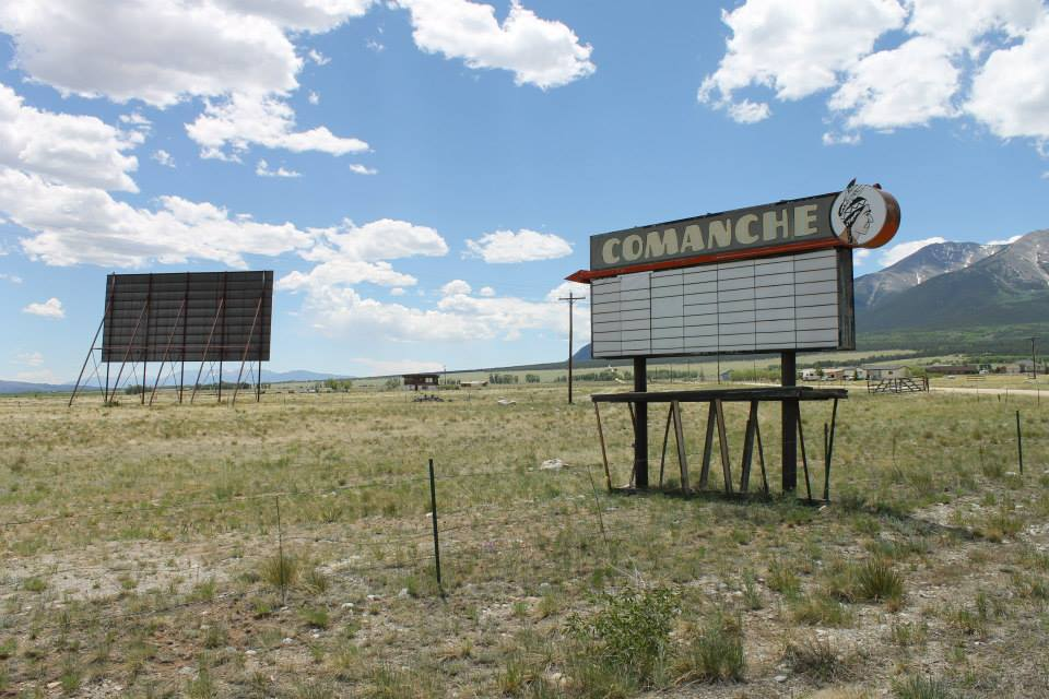 image of Comanche drive-in theatre
