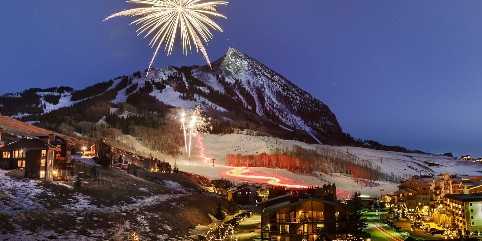 Crested Butte New Years Eve, Colorado