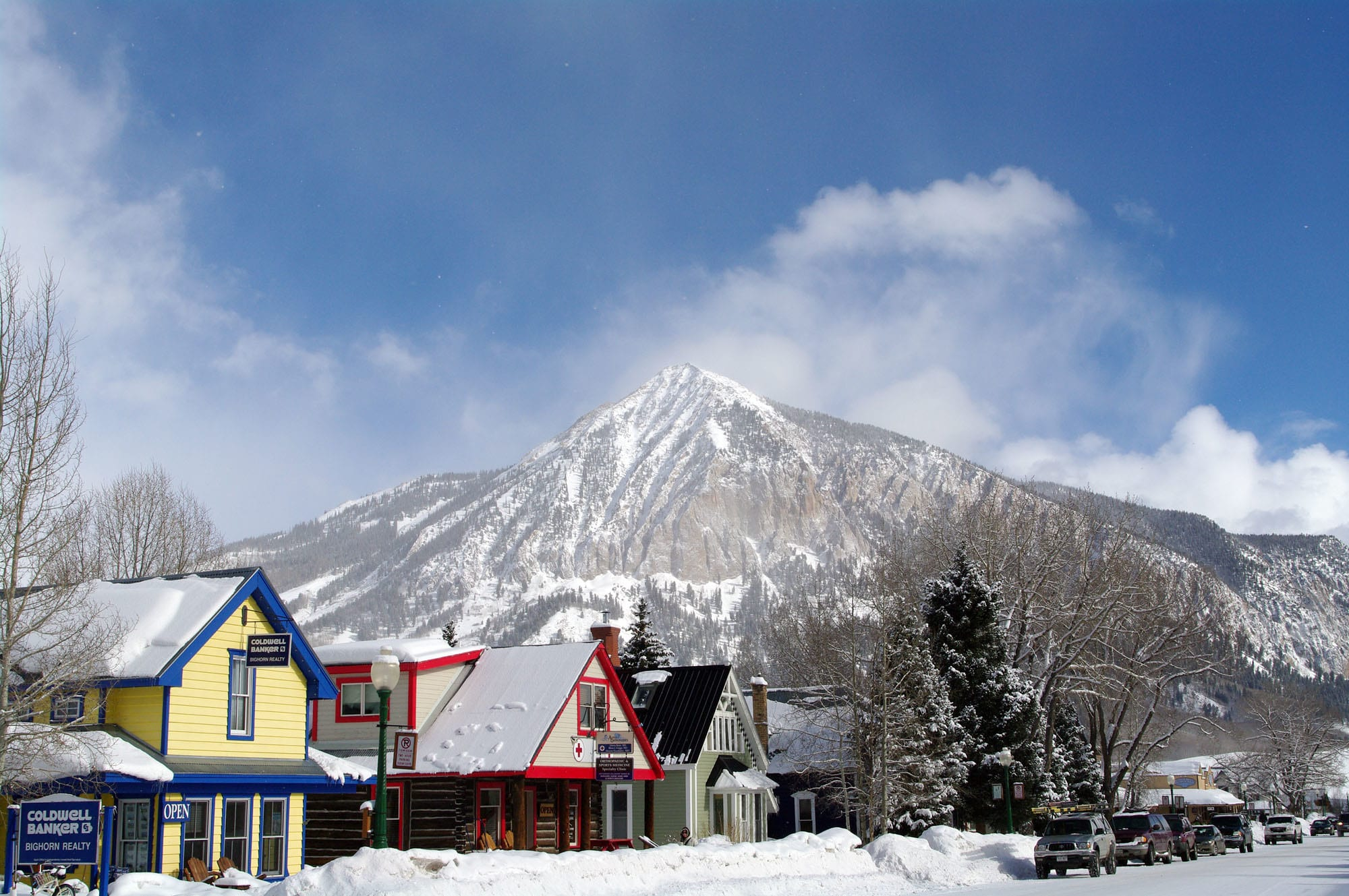 image of Crested butte downtown