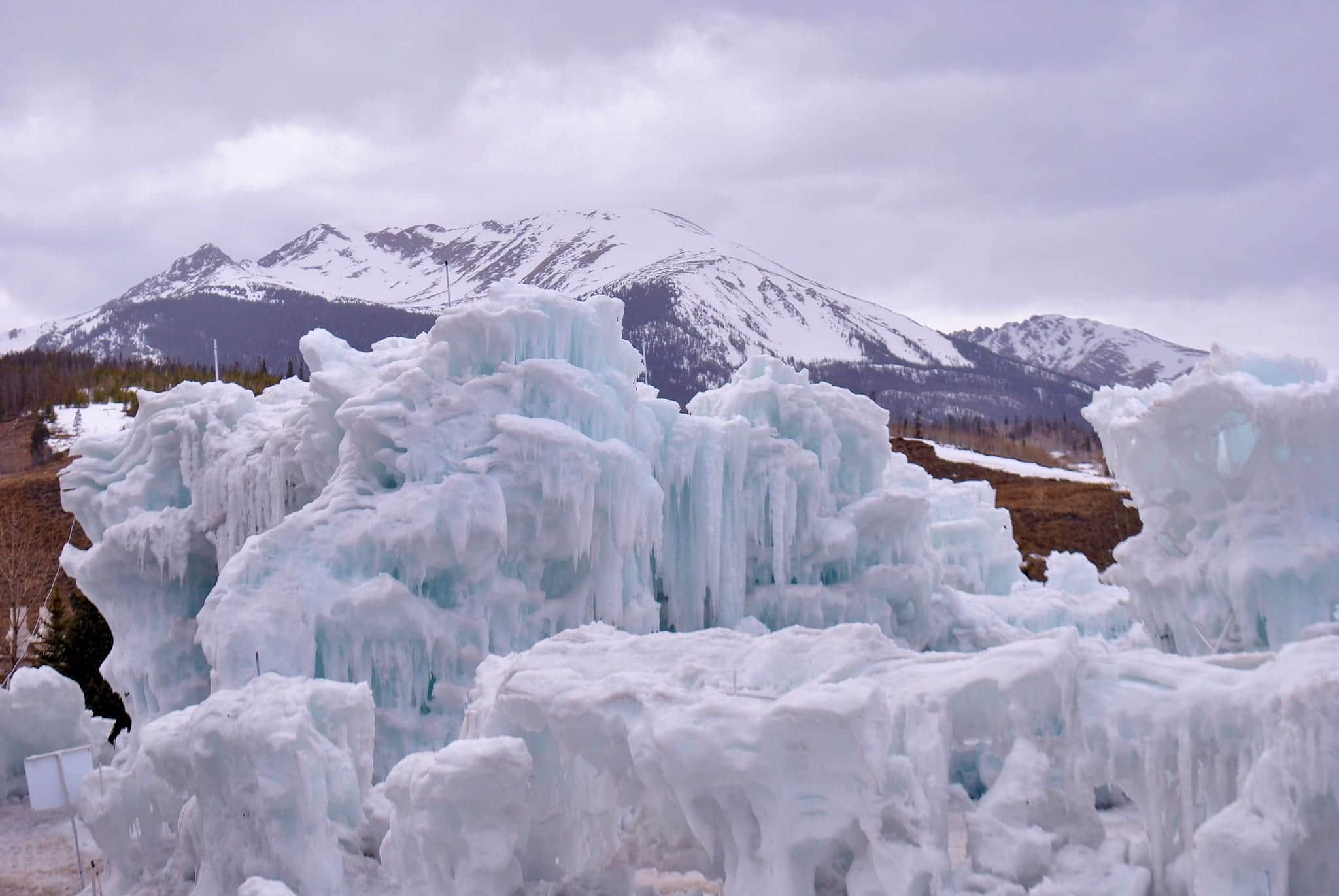 image of dillon ice castles