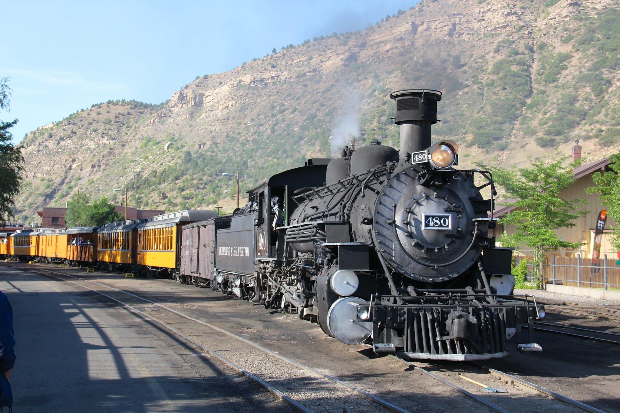 gambar dari Durango Silverton Railroad