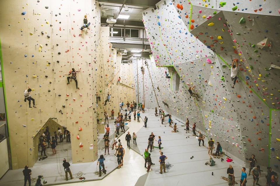 image of earth treks climbing gym