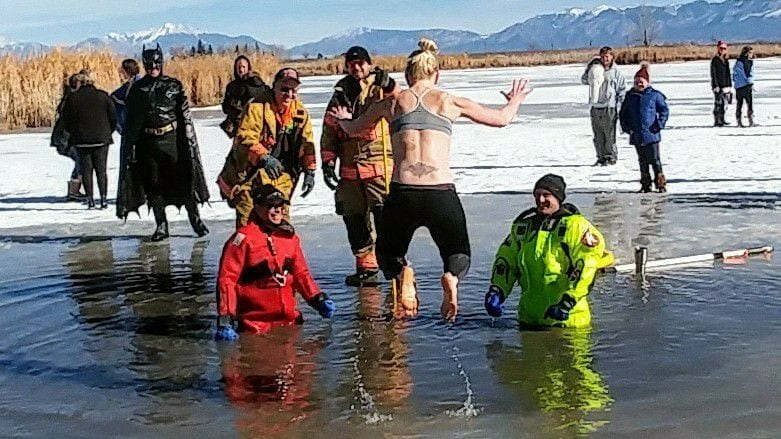 image of polar plunge
