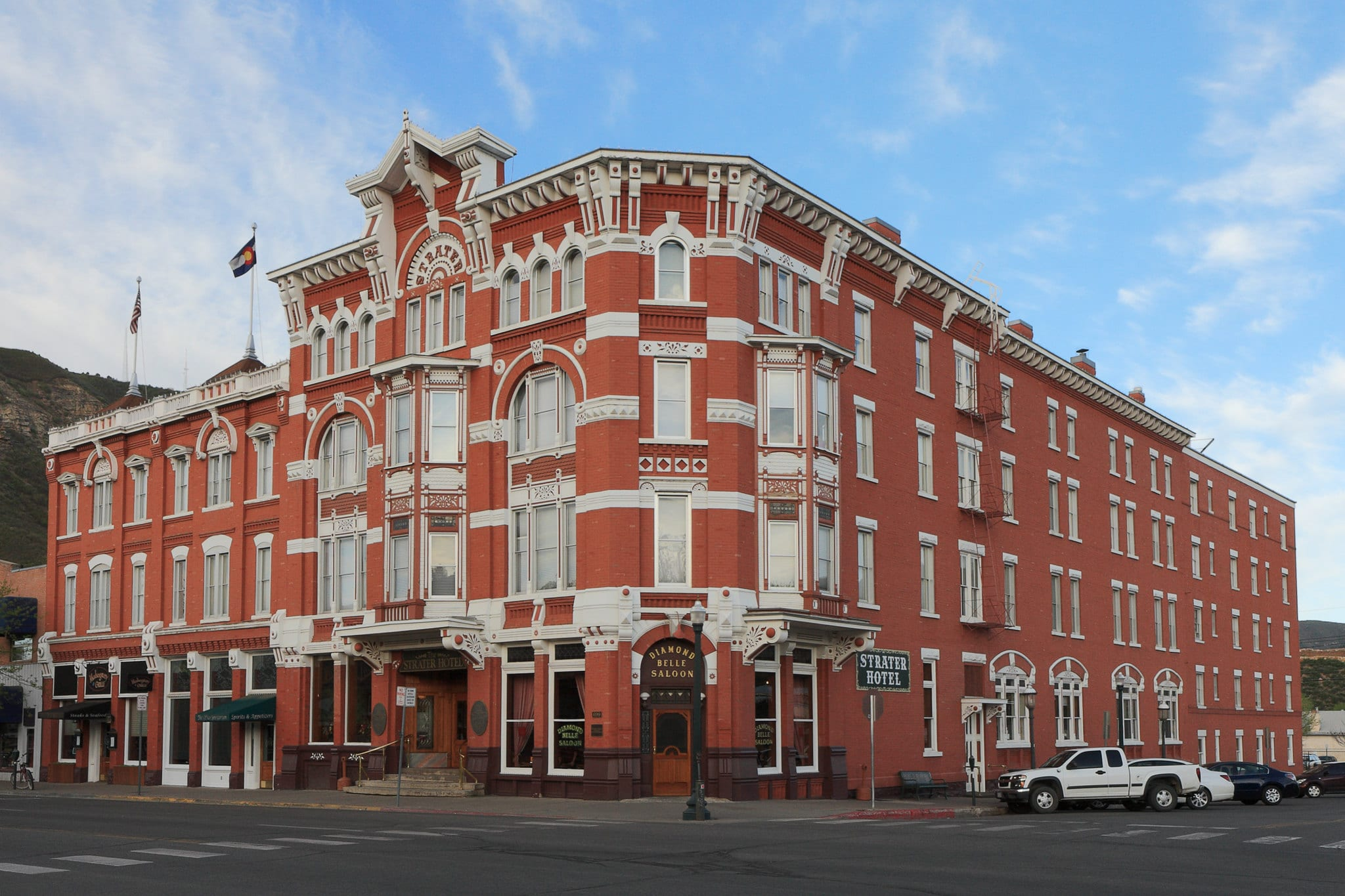 image of strater hotel in Durango