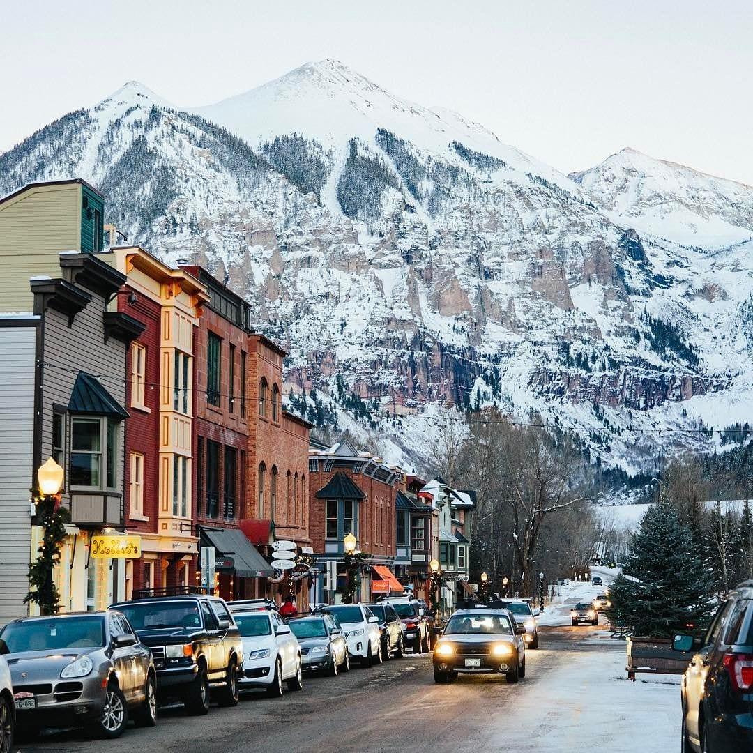 Winter at Telluride, Colorado