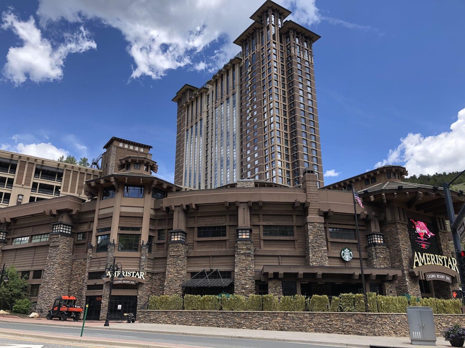 Ameristar Casino Hotel and Spa Black Hawk Exterior
