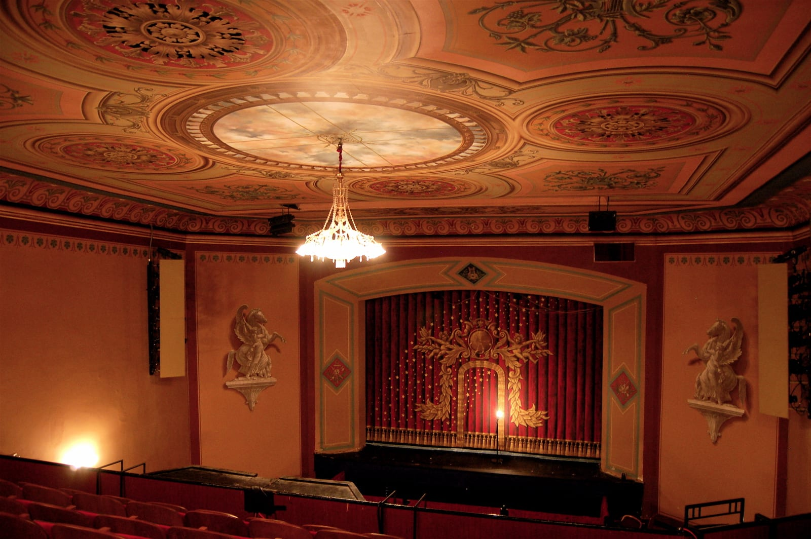 Central City Opera House Theater Stage