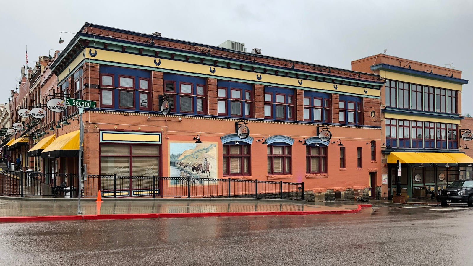 Century Casino Cripple Creek CO Side of Building