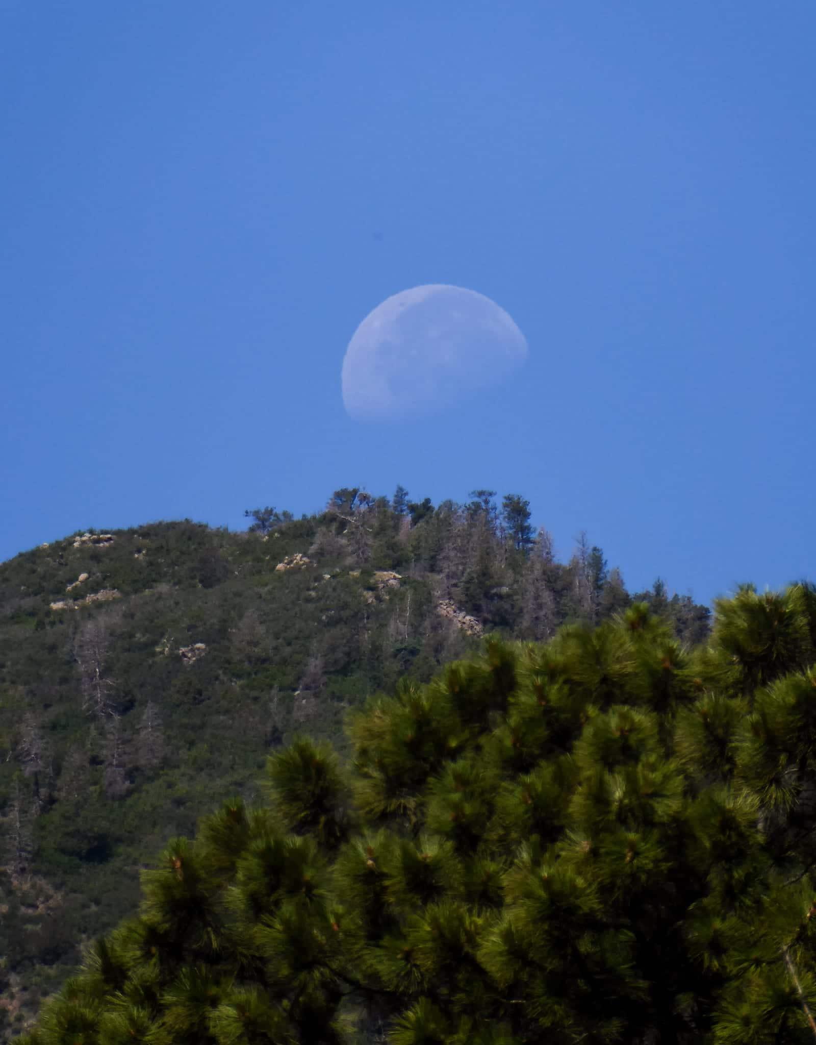 Cheyenne Mountain State Park Summit Moon Colorado Springs