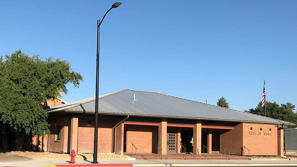 image of city of yuma building