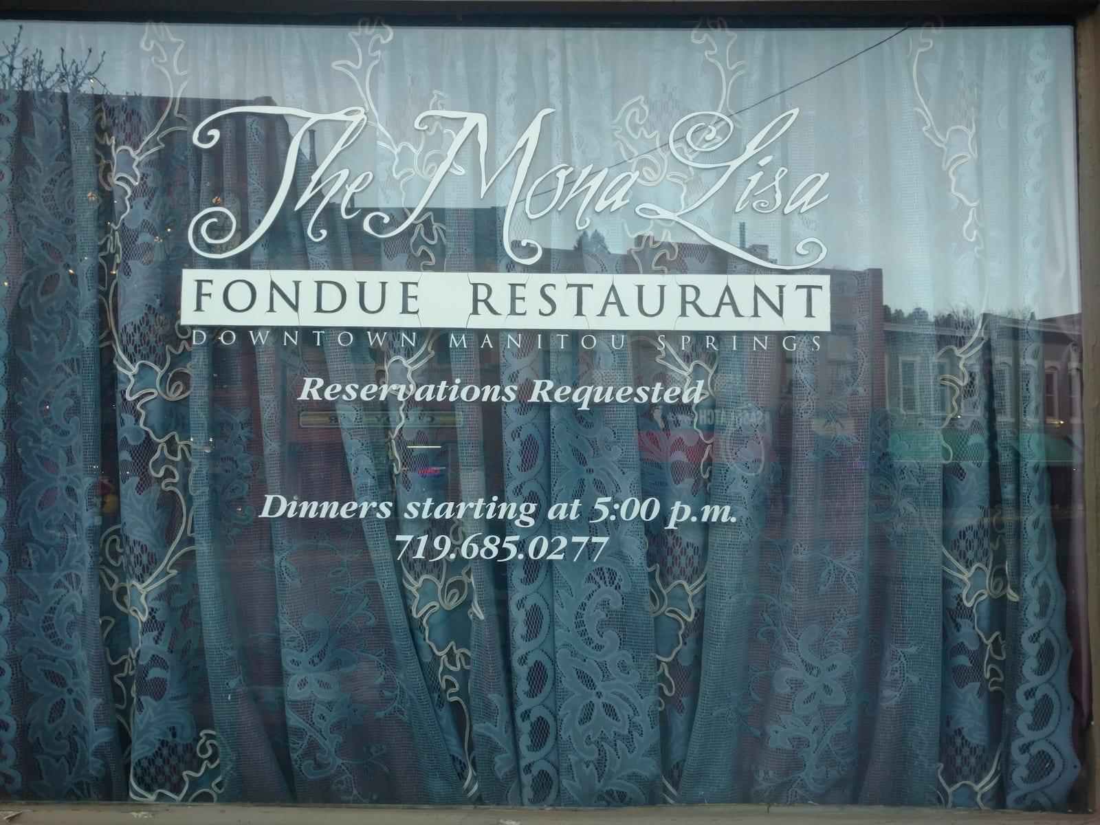 Colorado Springs Fine Dining