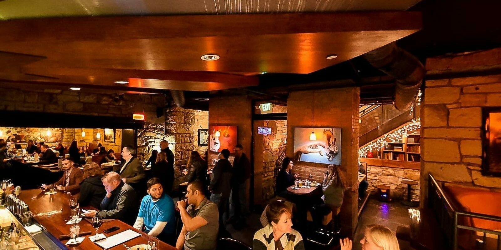 Best Colorado Springs Fine Dining Restaurants The Rabbit Hole Interior Bar