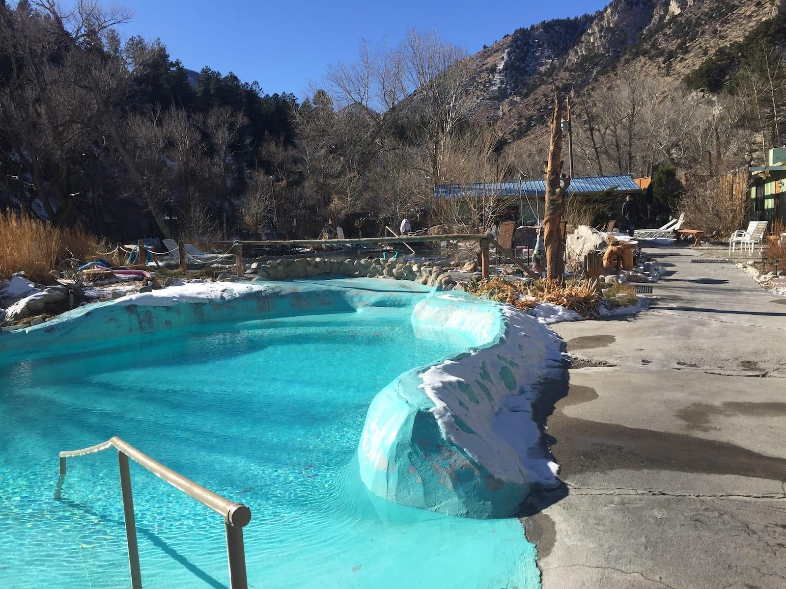 Cottonwood Hot Springs Cool Pool Buena Vista CO