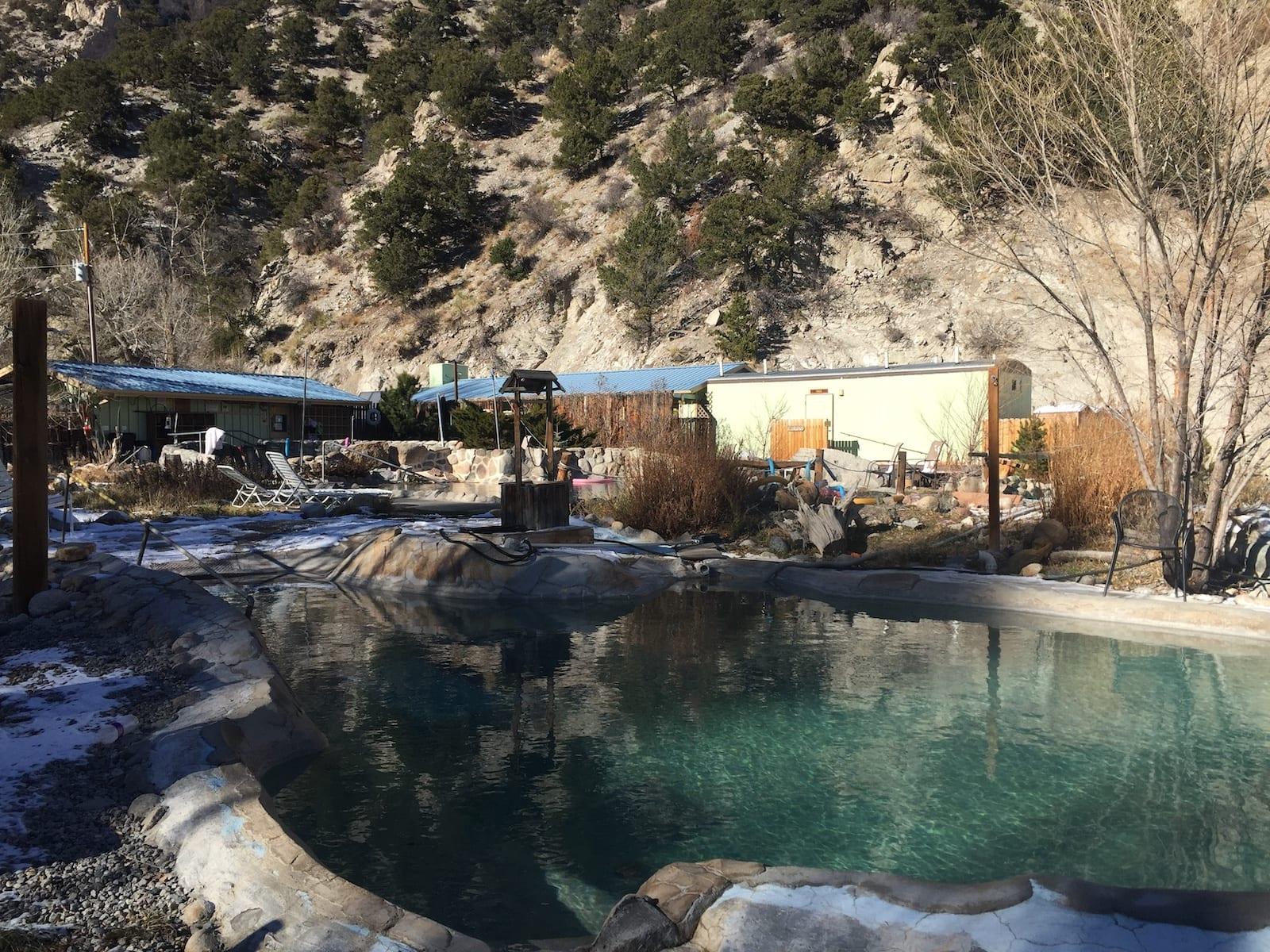 Cottonwood Hot Springs Pools Buena Vista CO