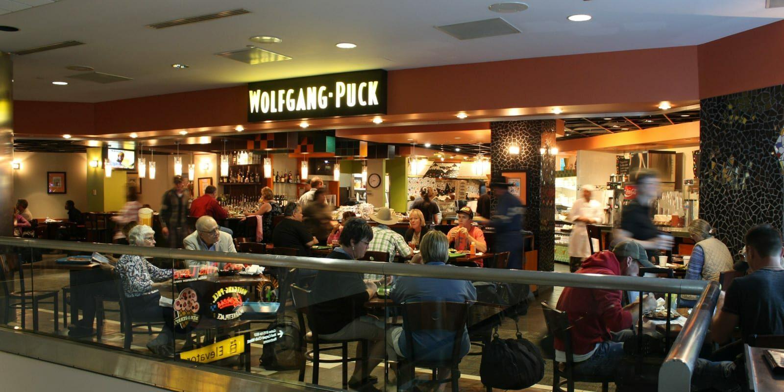 Denver Airport Food Wolfgang Puck Restaurant