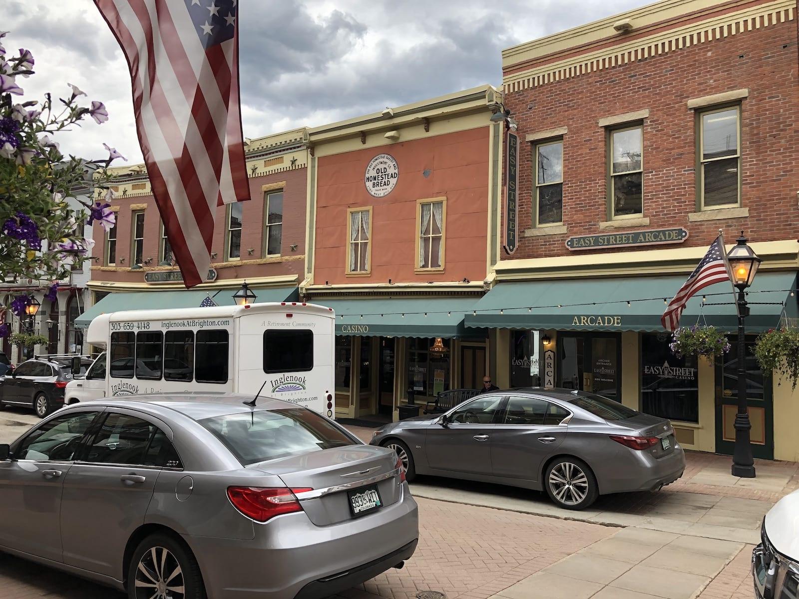 Easy Street Casino Central City USA Flag