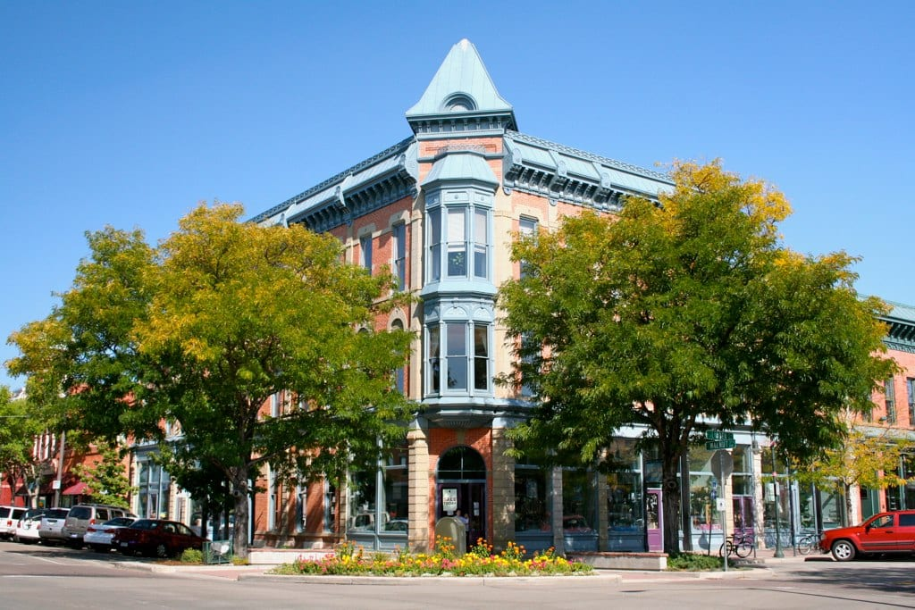 image of Fort collins Old town