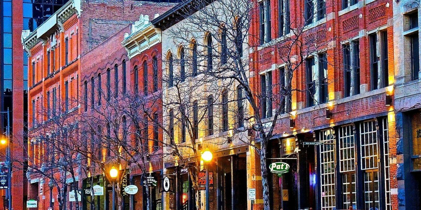 image of historic buildings denver