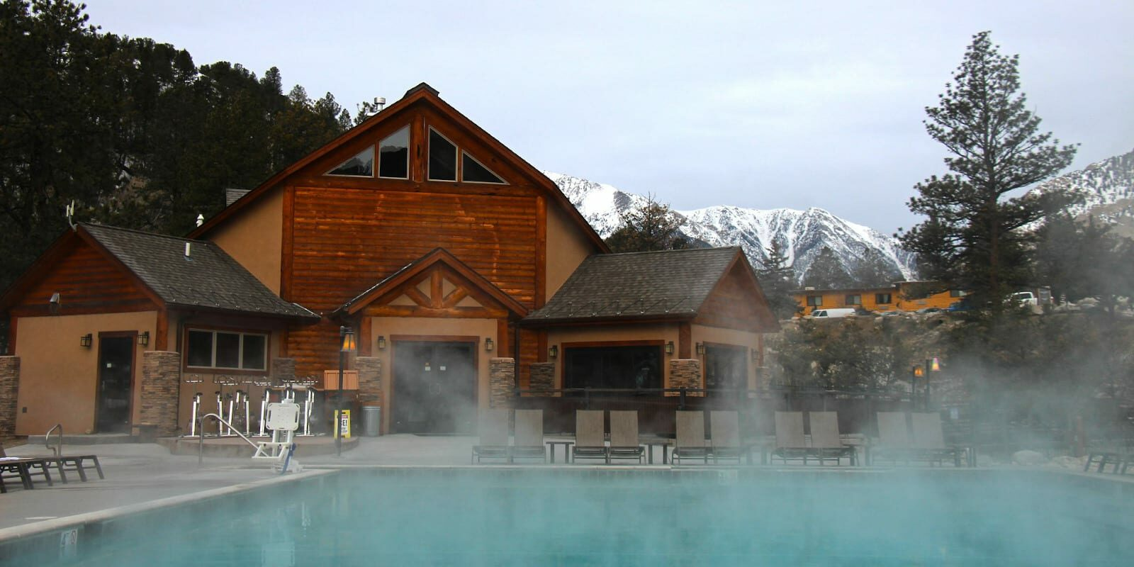 Hot Springs near Buena Vista Mount Princeton Pool
