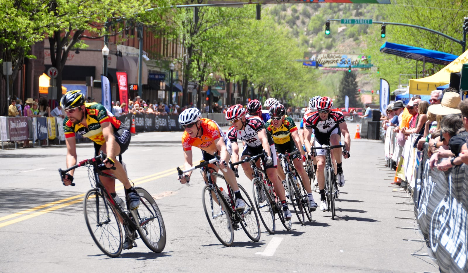 Iron Horse Bicycle Classic Downtown Durango Racers