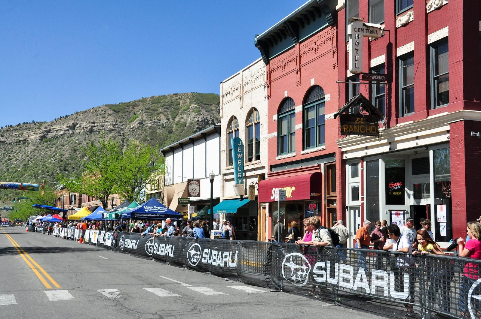 Iron Horse Bicycle Classic Downtown Durango Crowd