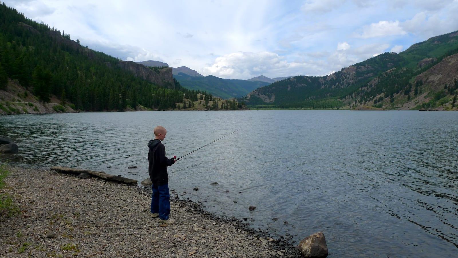 Lake San Cristobal Colorado Fishing