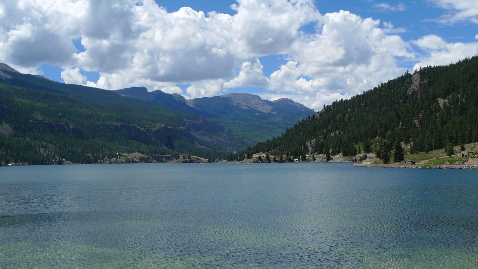 Lake San Cristobal Calm Waters Colorado