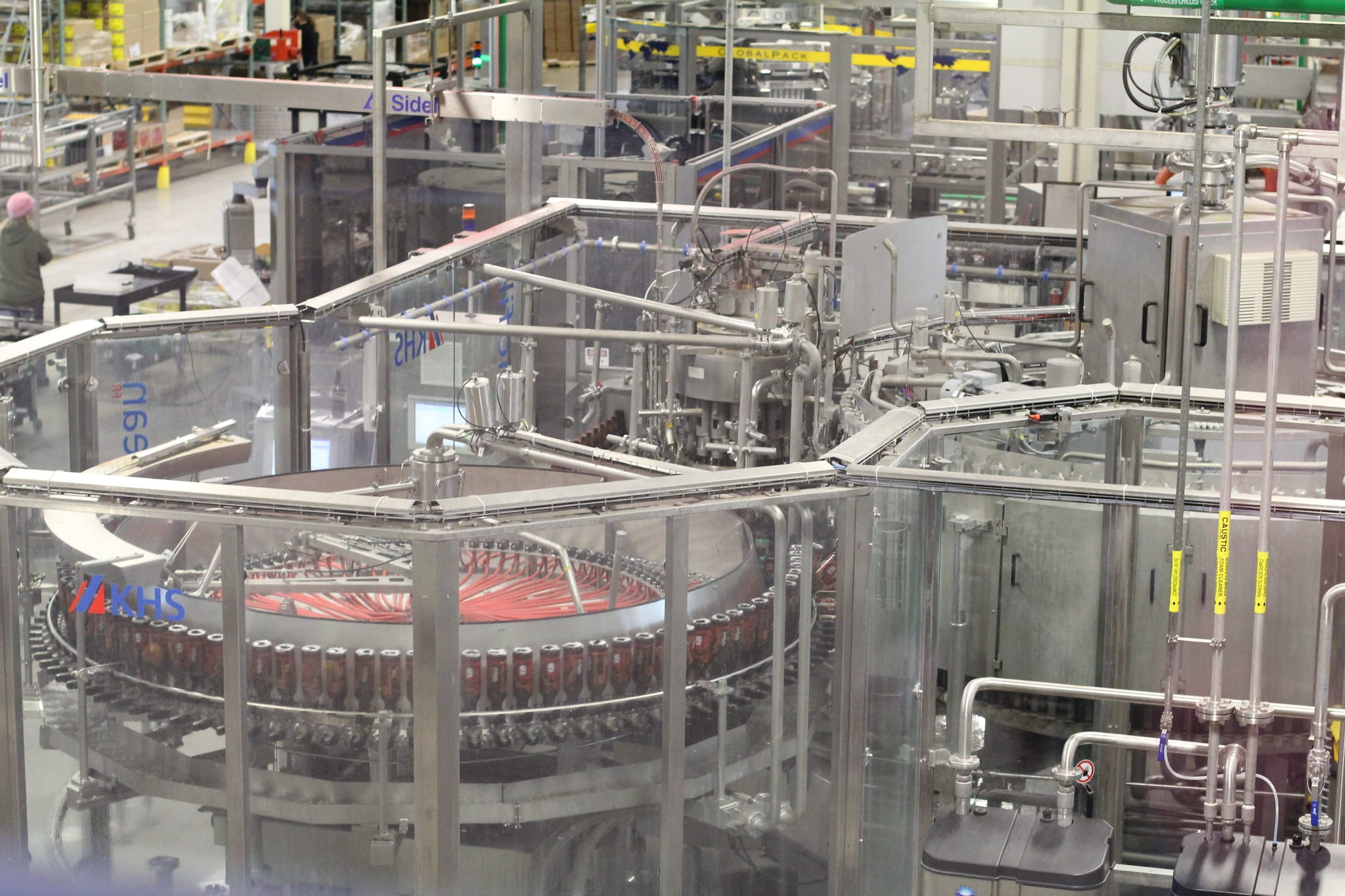 image of a new belgium brewery tour