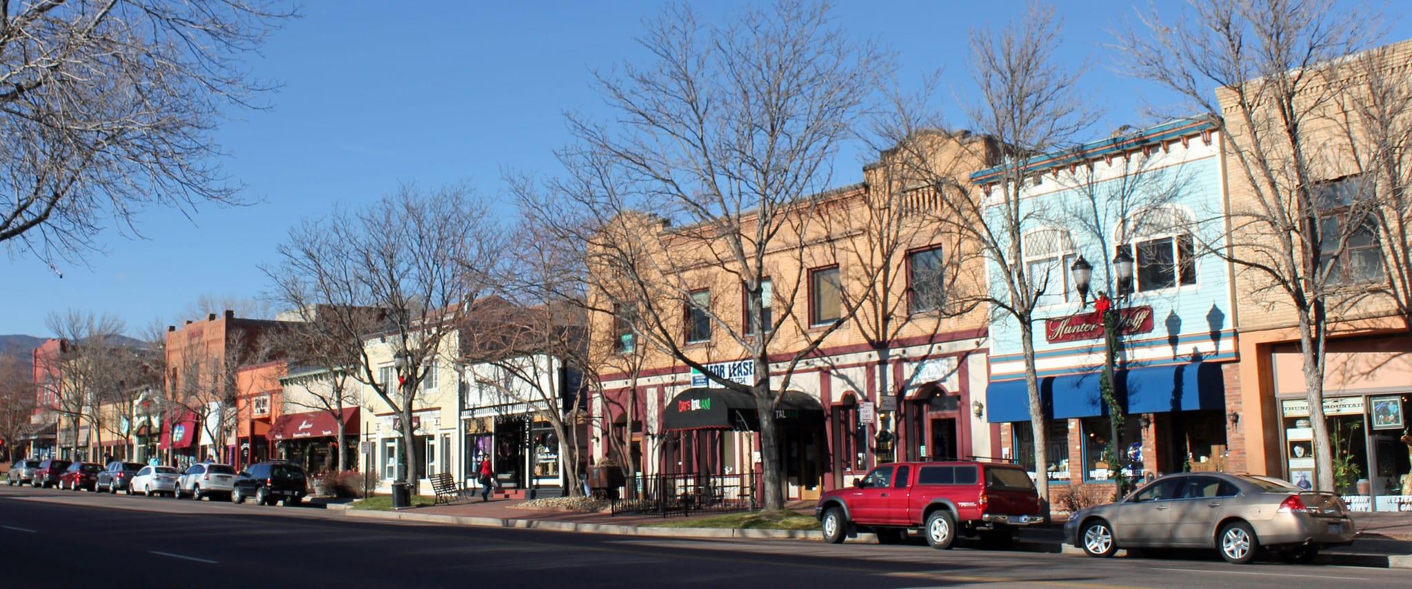 image of old colorado city